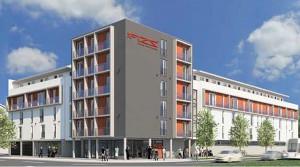 Studentenapartment kaufen als Wertanlage im FIZZ+ Freiburg Zähringen (Provisionsfrei!) 1.06