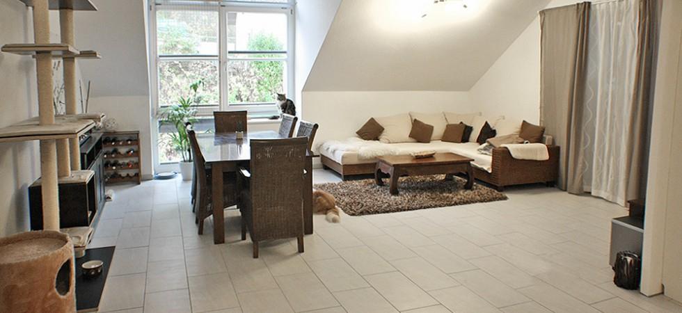 2-Zimmer Loft Wohnung zur Miete in Lahr im Neuwerkhof / Neubau, Fußbodenheizung, 75m²