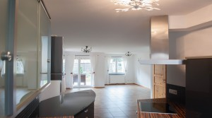 Küche - Wohnzimmer